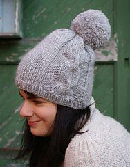 Ravelry: Ariosa Pom-Pom Hat pattern by Hannah Fettig FREE