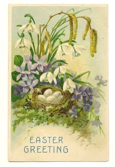 Vintage Easter ephemera...