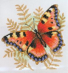 X-Stitch : Butterflies Cross Stitch Boards, Cross Stitch Art, Cross Stitch Animals, Cross Stitch Designs, Cross Stitching, Cross Stitch Embroidery, Embroidery Patterns, Cross Stitch Patterns, Butterfly Cross Stitch