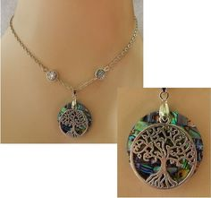 Silver Celtic Knot Tree of Life Pendant Necklace Jewelry Handmade NEW Adjustable #handmade http://www.ebay.com/itm/161749049532?ssPageName=STRK:MESELX:IT&_trksid=p3984.m1555.l2649