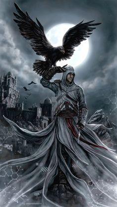 Altair - Animus Eagle by KejaBlank.deviantart.com on @DeviantArt