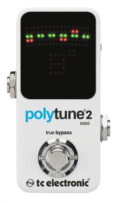TC Electronics PolyTune 2 Mini Chromatic Tuner Pedal