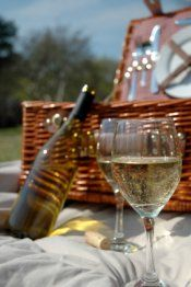 Picnic with wine at La Selva Vacation villas, plenty of nice spots to choose from.  We can arrange a basket.  The site that provided this picture has wonderful ideas.