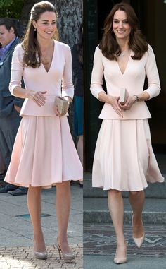 Kate M. Recycled outfits... just like the rest of us. Go figure, huh?