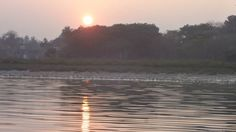 Sunset at the River Ganges