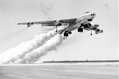 June 17, 1986: Last flight ever by a Boeing B-47 Stratojet when B-47E-25-DT, 52-0166, was restored to flight status for a one-time-only ferry move from Naval Weapons Center China Lake, California to Castle Air Force Base, California for museum display.
