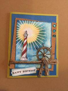 Stampin Up From Land To Sea