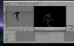 C4D運動剪輯系統