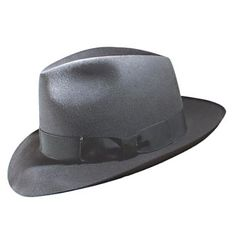 Borsalino - 1930. Created by the Borsalino Company in Alessandria, Italy, this men's felt hat is the most popular of its kind in the world