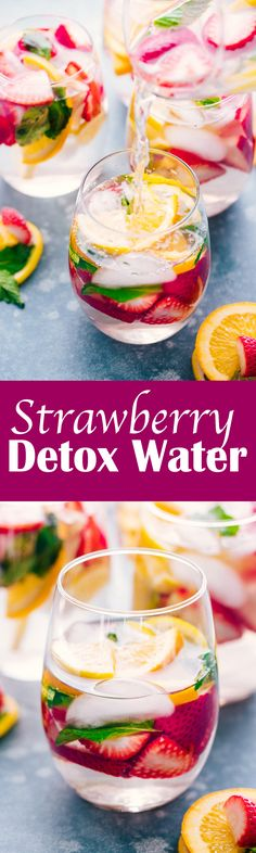 Strawberry Detox Water is an amazing, refr. - Timothy Edwards - Strawberry Detox Water is an amazing, refr. Strawberry Detox Water is an amazing, refreshing drink that will ensure you are feeling your best with all the healt - Week Detox Diet, Detox Diet Drinks, Body Detox Cleanse, Cleanse Diet, Stomach Cleanse, Detox Foods, Detox Juices, Smoothie Cleanse, Juice Cleanse