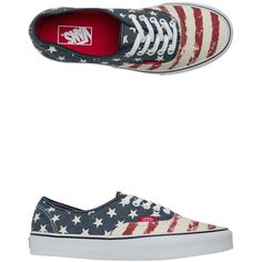 Vans Americana Authentic Shoe ($38) ❤ liked on Polyvore featuring shoes, sneakers, vans, blue, american shoes, vans sneakers, vans trainers, blue sneakers and lace up shoes
