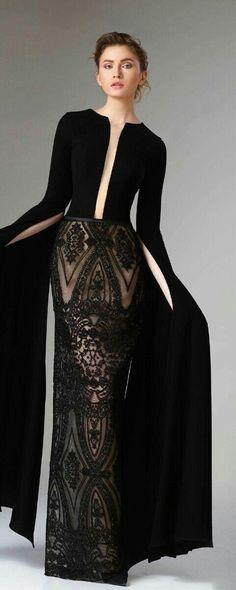 """Edward Arsouni """"Divina"""", H/W - Couture - Designer Dresses Couture Couture Mode, Haute Couture Fashion, Haute Couture Gowns, Dress Dior, Dress Up, Vestidos Fashion, Fashion Dresses, Hijab Fashion, Beautiful Gowns"""