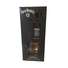 Jack Daniels Whiskey miniature with branded Tumbler Gift Set