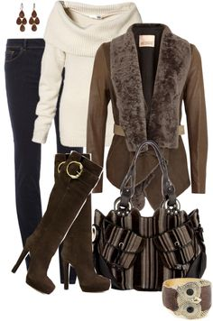 """Browns 2"" by averbeek on Polyvore"