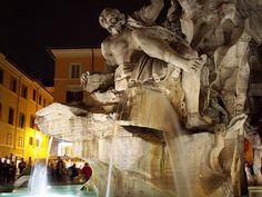 Four rivers fountain - Piazza Navona #Rome #Roma #FindAReasonToGo #GrayLine #ILoveRome