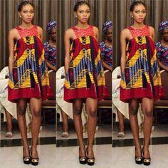 Glow In These Latest, Classy And Trendy Ankara Styles ~ African fashion, Ankara, kitenge, Kente, African prints, Braids, Asoebi, Gele, Nigerian wedding, Ghanaian fashion, African wedding ~DKK
