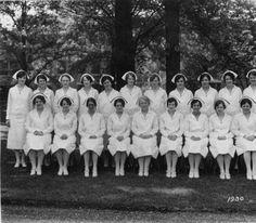 Vassar Brothers Hospital's School of Nursing Graduating Class of 1934   http://www.hrvh.org/cdm/ref/collection/vbmc/id/149