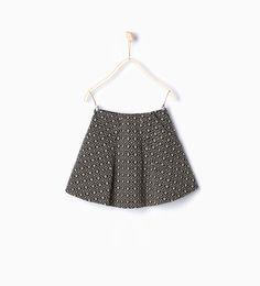 Image 1 of Jacquard skirt from Zara
