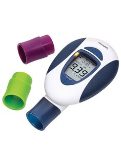 Smartphone Compatible My Spiroo Peak Flow Meter  Asthma Control
