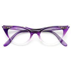 b118f9985b Purple Fade Fashion Eye Glasses