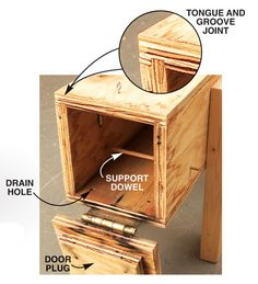 Simple Steam Box - The Woodworker's Shop - American Woodworker Woodworking Magazine, Woodworking Workbench, Easy Woodworking Projects, Popular Woodworking, Woodworking Shop, Wood Projects, Green Woodworking, Exterior Grade Plywood, Steam Box