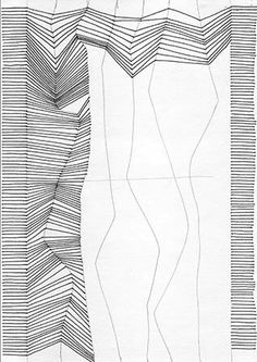 line drawing lines simple bridget imitate drawings really riely 3d illusion op exercises movement draw sketch zentangle exercise abstract patterns