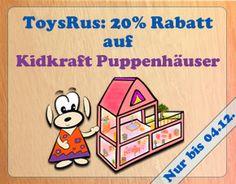 NUR NOCH HEUTE BIS MITTERNACHT: -20% auf alle #Kidkraft Puppenhäuser bei #ToysRUs.  Wir haben das Angebot genau unter die Lupe genommen und zeigen euch, bei welchen Modellen ihr heute WIRKLICH SPAREN könnt: http://puppenhausvergleich.de/20-rabatt-auf-kidkraft-puppenhaeuser-bei-toysrus/