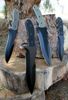 Handmade in USA military, hunting and survival knives. Cool Knives, Knives And Tools, Knives And Swords, Tactical Knives, Survival Knife, Survival Gear, Armas Ninja, Best Pocket Knife, Pocket Knives