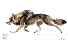 Animal Sketches Created By Therese Larsson by Sense , via Behance
