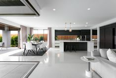 Open Plan Living Area // The Designer by Metricon Franklin, on display in Lightsview, SA.