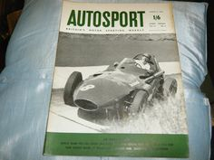 TONY BROOKS VANWALL GERMAN GP 1958 PETER COLLINS ACCIDENT MIKE HAWTHORN MCLAREN
