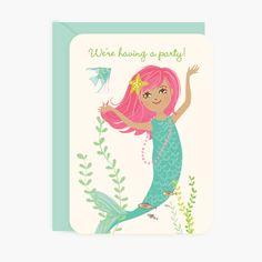 Party Invites - Mermaid