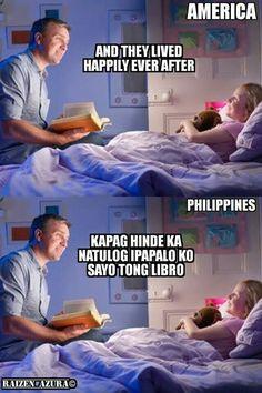 Filipino parenting #meme Funny Animal Jokes, Some Funny Jokes, Good Jokes, Haha Funny, Lol, Funny Asian Memes, Asian Humor, Funny Video Memes, Crush Quotes Tagalog