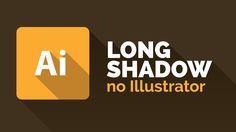 2 formas fáceis de criar Long Shadow no Illustrator
