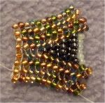 Beading Tutorials: flat herringbone increase
