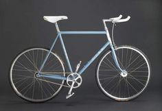 Build A Bike, Fixed Gear Bike, Cool Bikes, Gears, Gallery, Creative, Blue, Inspiration, Accessories