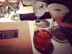 Cocktails at Germantown Cafe during Nashville Restaurant week. Nashville Restaurants, Alcoholic Drinks, Cocktails, Restaurant Week, Cheers, Instagram Posts, Food, Craft Cocktails, Essen