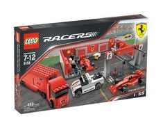 Ferrari F1 Pit LEGO,http://www.amazon.com/dp/B000WO5SI8/ref=cm_sw_r_pi_dp_AnP.sb1BR7RZG0FA http://mandksales.net/