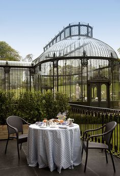 """""""Relais & Chateaux - One step inside the sprawling grounds of this historic Regency mansion house, one of the most lavish in Ireland, and an air of tranquillity takes hold. Ballyfin Demesne, IRELAND"""" #relaischateaux #gardens"""