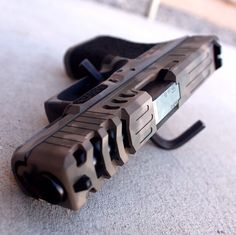Bag full of guns : Photo Custom Glock, Custom Guns, Weapons Guns, Guns And Ammo, Glock Guns, Rifles, Airsoft, Cool Guns, Tactical Gear