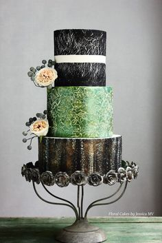 Spectacular Wedding Cakes from Floral Cakes by Jessica MV