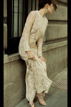 Vestido de encaje años 60. #retro #vintage #bridal #bodas #novias