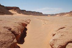 Suelo del paleolago del wadi Bakht