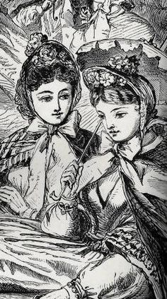 Victorian Women's Fashion, 1850-1900: Hats and Headwear