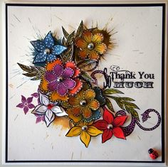 Sheena Douglass – Crafts, Papercrafting, Stamps, Create & Craft » Its Only Words and Florals