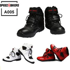 Pro biker SPEED Motorcycle Boots Moto Racing Motocross Motorbike Shoes A005 Black/White/Red size 38-45♦️ SMS - F A S H I O N 💢👉🏿 http://www.sms.hr/products/pro-biker-speed-motorcycle-boots-moto-racing-motocross-motorbike-shoes-a005-blackwhitered-size-38-45/ US $46.80