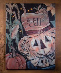 It Is Fall Lighted Canvas #zulily #zulilyfinds