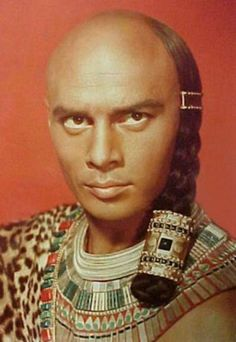 Yul Brynner as Prince Rameses in The Ten Commandments