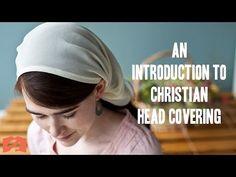 Should Christians wear a head covering? The tichel, the kippah, Modesty. Disciple teaching 2 - YouTube