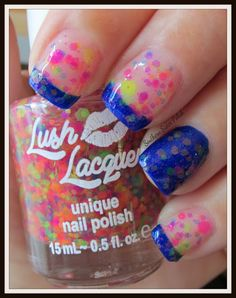 Southern Sister Polish: Lush Lacquer..... Clowning Around
